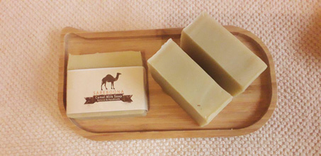 Producing and Distributing Handmade Camel Milk with Honey Soap in Middle East Country, Iran